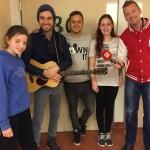 Alexander Knappe gibt spontanes Klinik-Konzert in Potsdam