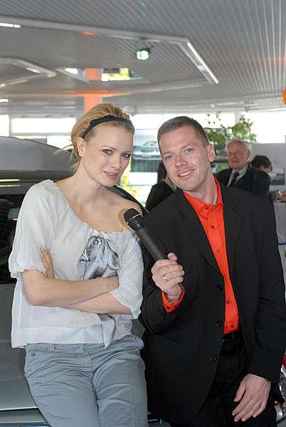 Präsentation der neuen C-Klasse von Mercedes im PAS – Autohaus am Stern in Potsdam