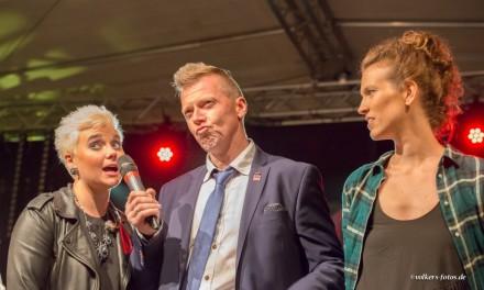 Moderation der Schlosspark Nacht 2015 in Bad Freienwalde.