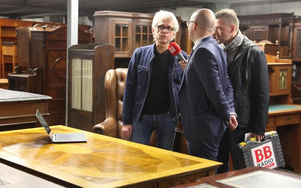 Besuch beim Filmausstatter Bernhard Henrich