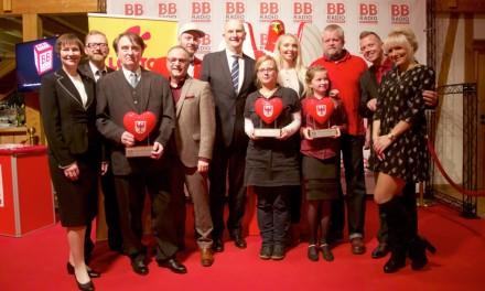 """Moderation der großen """"BB RADIO-Hörerhelden""""- Gala 2015"""
