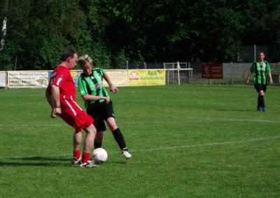 Absatz gegen Abseits –Fußball Frauen gegen Männer
