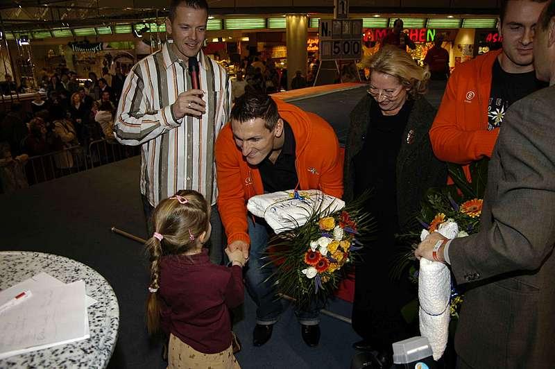 Internationales Stabhochsprung Meeting des SC Potsdam im Stern Center in Potsdam 2006