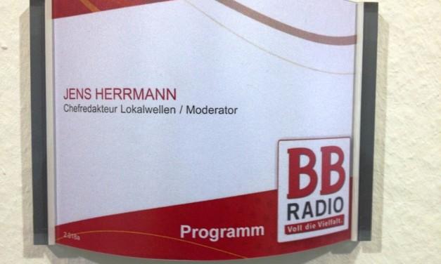 Jens Herrmann wird Chefredakteur der BB RADIO-Lokalwellen