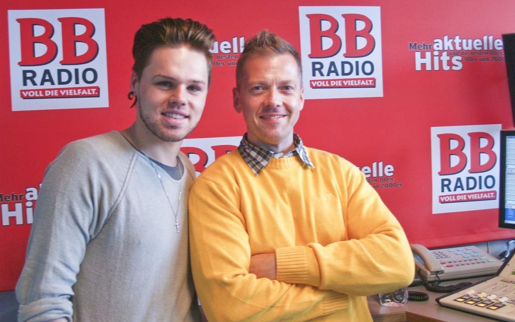 Daniel Schuhmacher bei BB RADIO