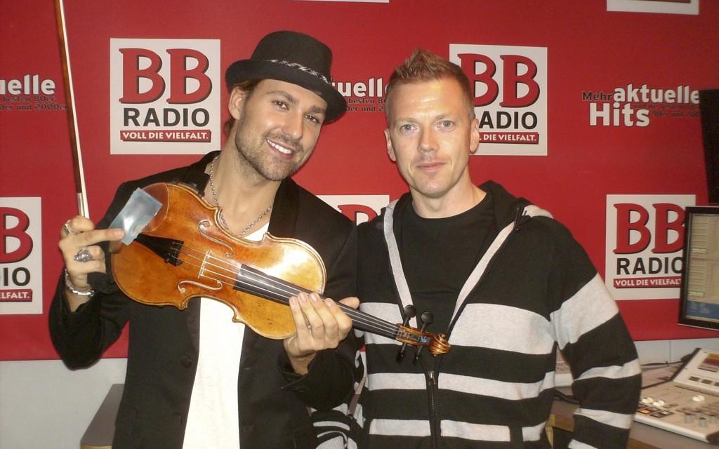 David Garrett bei Jens im Studio