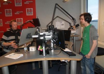 David Werker bei mir in der Sendung