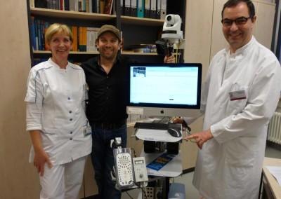 Die Region hilft Helfen - Schauspieler Christian Ulmen / Kinderklinikchef Prof. Dr. Thomas Erler
