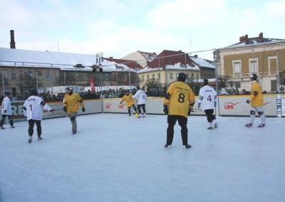 Fußball auf dem Eis 2011