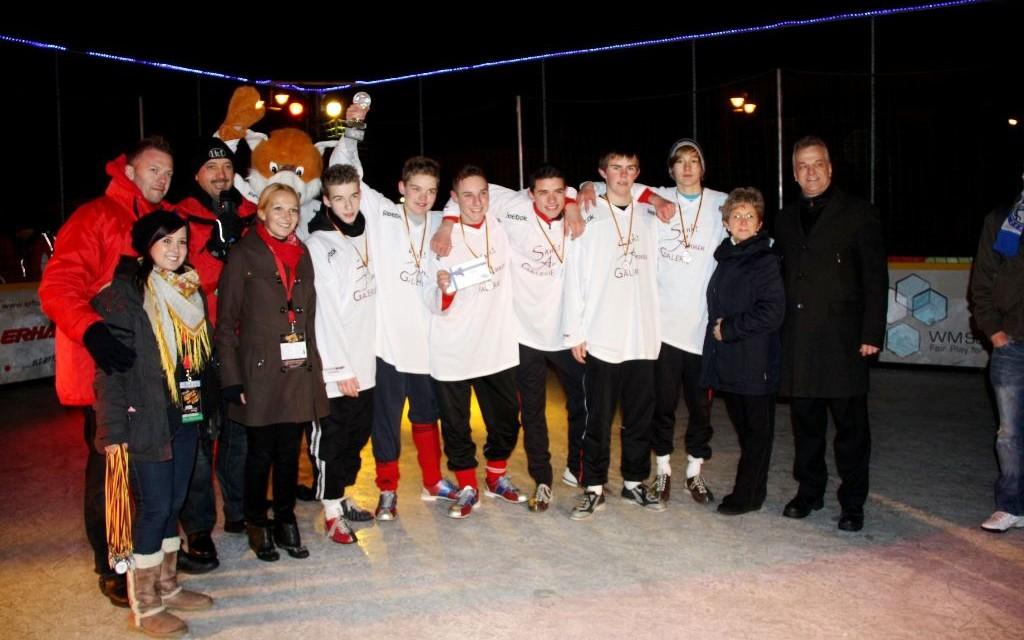 Fußball auf dem Eis