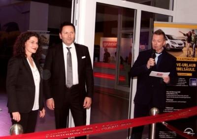 Eröffnung des 1. Opel ADAM-Stores in Deutschland