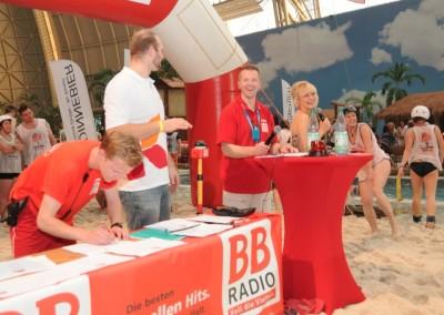 """Das BB RADIO-Frauentragen Part II im """"Tropical Islands"""""""
