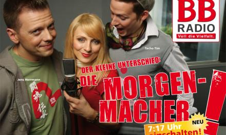 """Die BB RADIO-Morgenmacher"" NEU ab 7. Januar 2008"