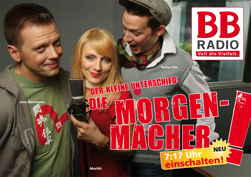 07.01.2008 – 30.08.2009 Die BB RADIO Morgenmacher