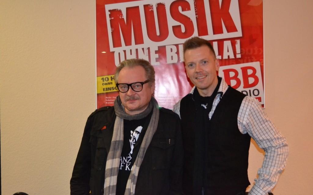 Heinz Rudolf Kunze bei Jens im Studio