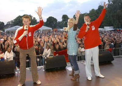 Großes Staraufgebot beim BB RADIO-Musiksommer II - 2008 in Neuruppin