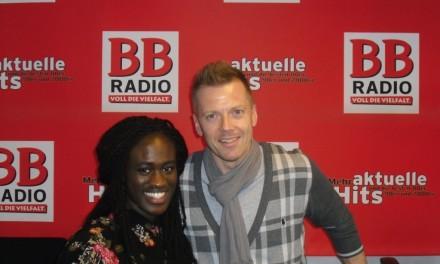 THE VOICE OF GERMANY Gewinnerin Ivy Quainoo bei BB RADIO