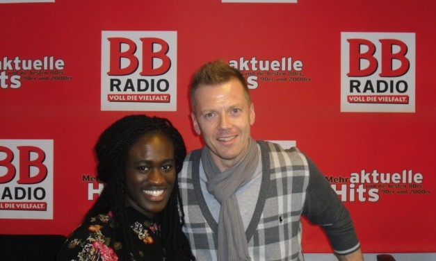 THE VOICE OF GERMANY Gewinnerin Ivy Quainoo bei BB RADIO