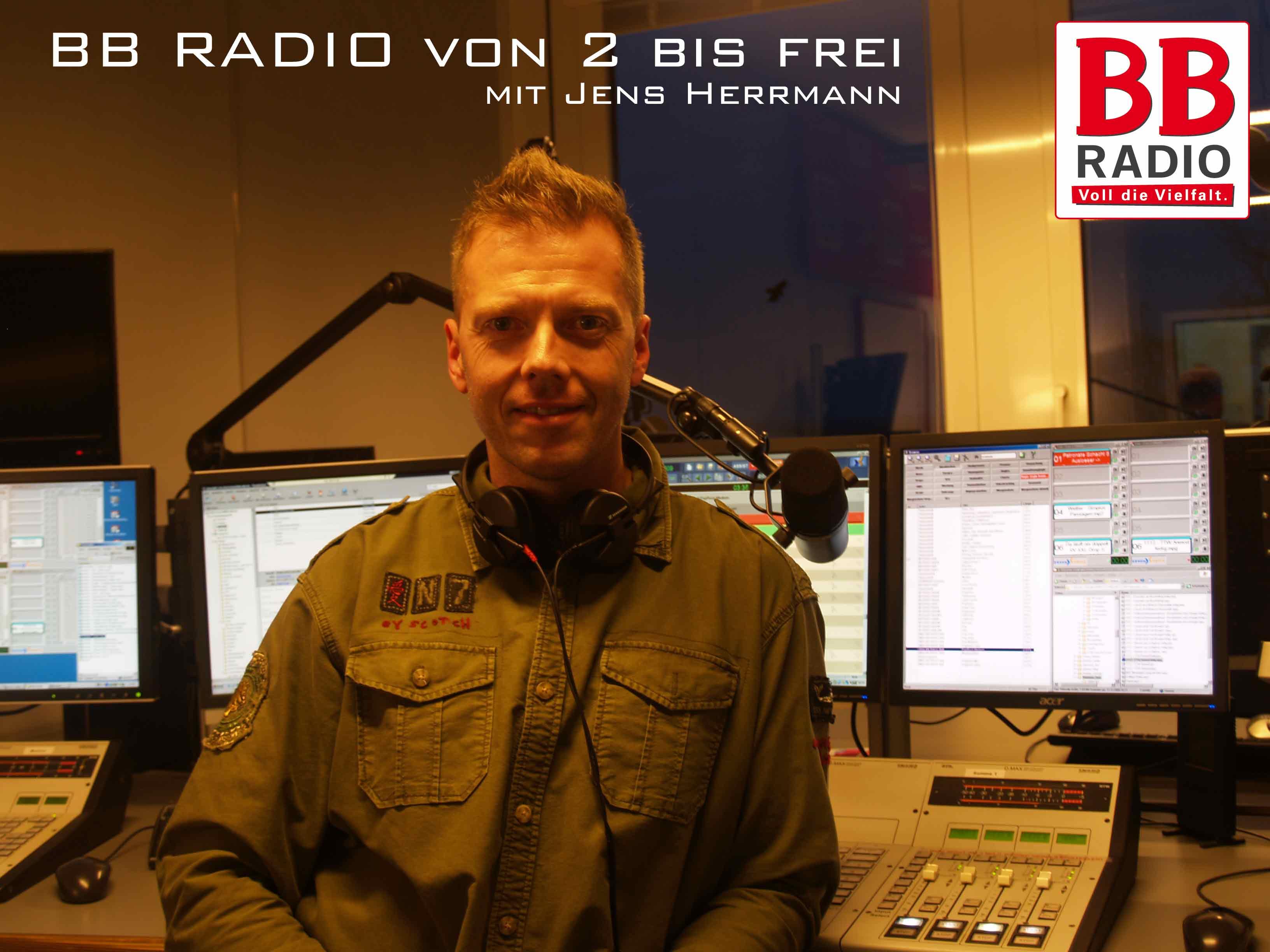 Seit 31.08.2009 Die BB RADIO Nachmittagsshow von 2 bis Frei