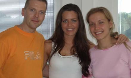 Kate Hall aus Dänemark zu Gast bei Jens