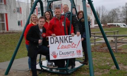 """Unterstützung der Charity Aktion """"Die Lausitz hilft!"""""""