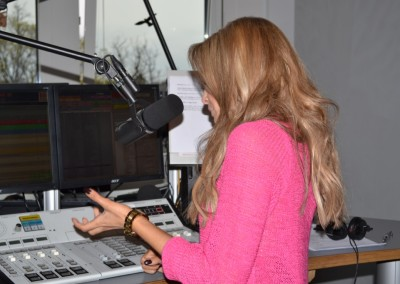 Mandy Capristo bei Jens im Studio