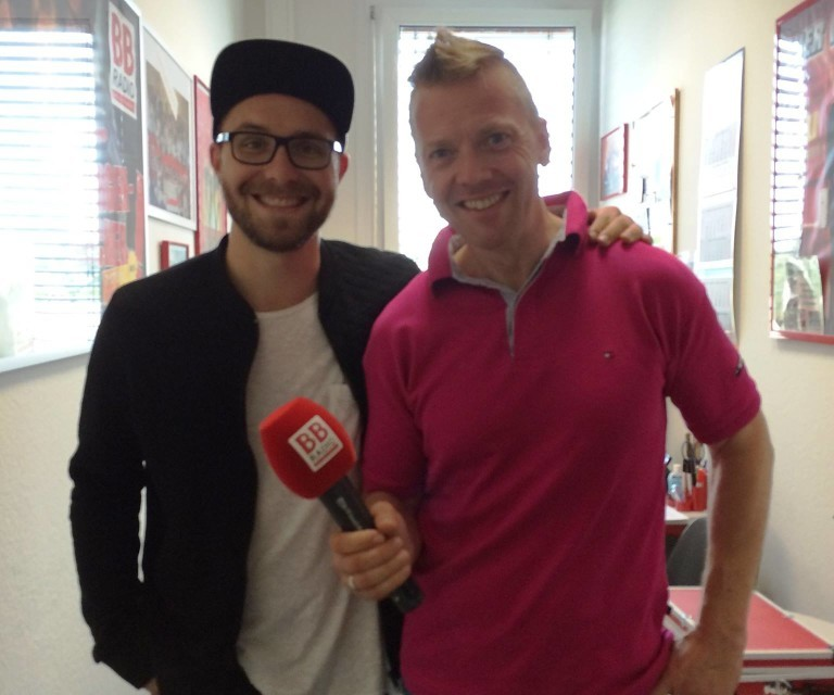 Mark Forster bei BB RADIO