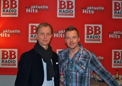 Max Raabe bei Jens im Studio
