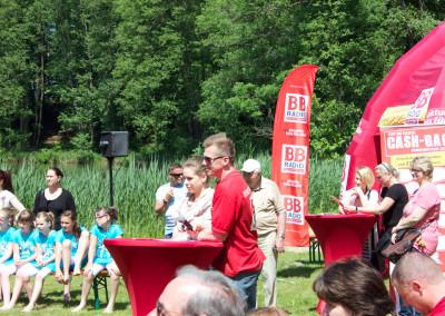 Pfingstmontag beim zweite Mühlenfest auf dem Gut Klostermühle in Alt Madlitz