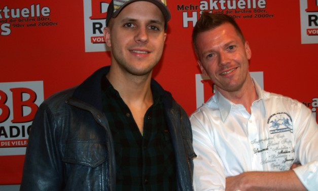 Milow bei BB RADIO