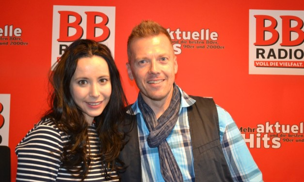 """The Voice of Germany"" Vocal Coach Nerina Pallot bei BB RADIO"