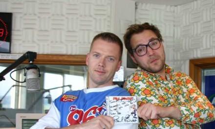 Paul Panzer gratuliert im Radio zum Geburtstag. Ohne Worte.