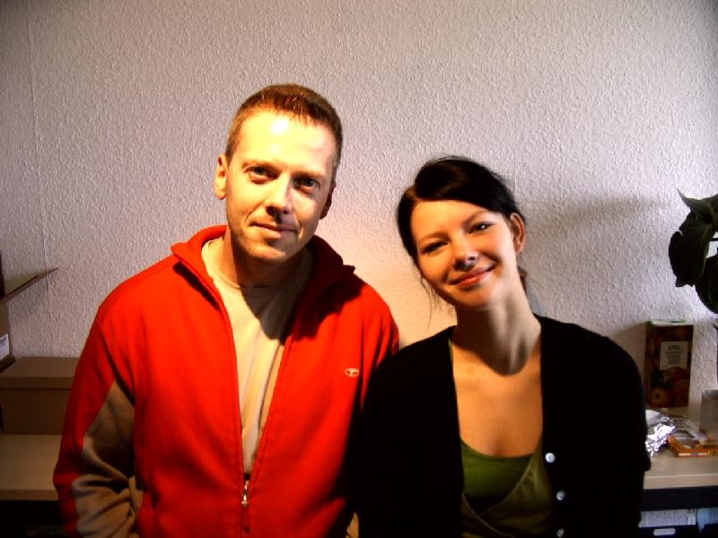 Studiogast Valentine auf ANTENNE MECKLENBURG VORPOMMERN