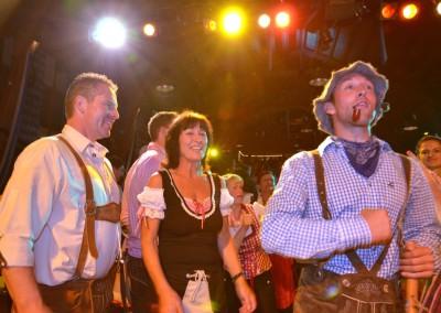Oktoberfest im Juli aus Schloss Diedersdorf