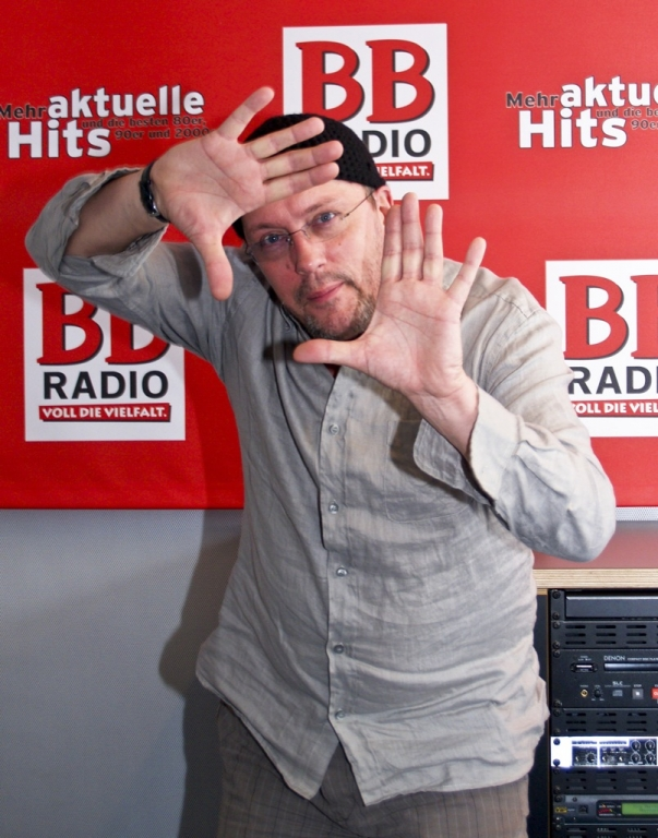 Hans Werner Olm bei den BB RADIO MORGENMACHERN