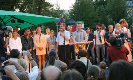 Empfang der Potsdamer Olympia-Teilnehmer in Potsdam