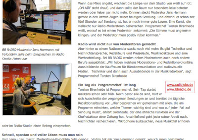 Jens Herrmann in der Presse