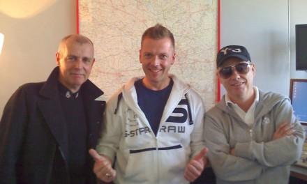 Die Pet Shop Boys bei Jens im Studio