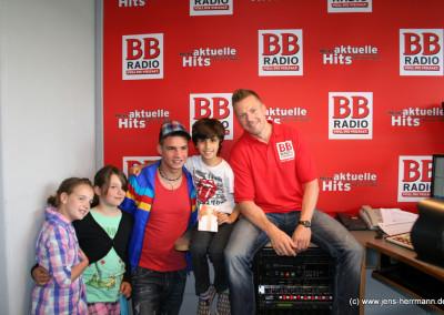 DSDS-Gewinner Pietro Lombardi bei mir im BB RADIO Comedy Brunch.