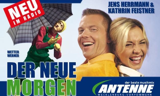 Jens Herrmann und Kathrin Feistner live beim Bundesvision Songcontest 2006 auf PRO 7