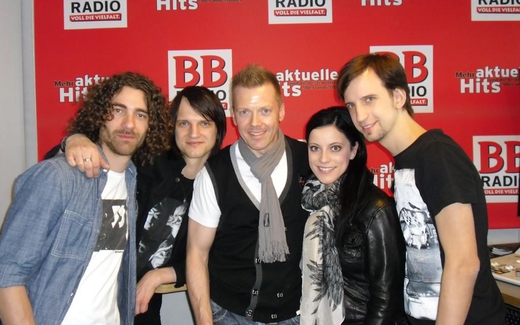 Silbermond bei BB RADIO 2012