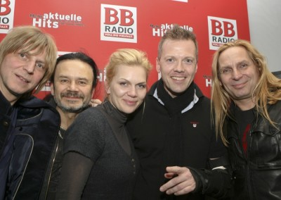 SILLY live bei BB RADIO