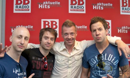 Simple Plan bei Jens im Studio