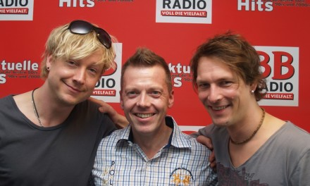 Sunrise Avenue bei BB RADIO