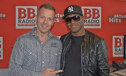 Taio Cruz bei BB RADIO