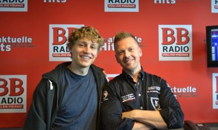 Tim Bendzko bei Jens im Studio