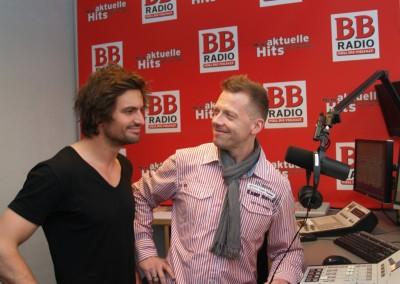Alarm für Cobra 11 bei BB RADIO – Tom Beck in der Show