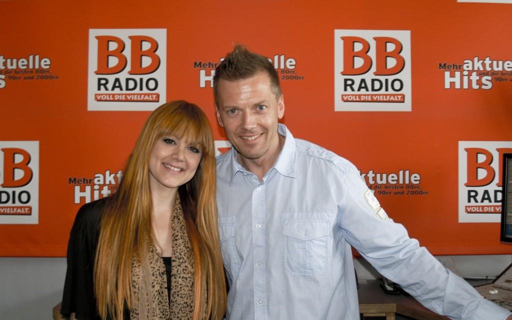 Vanessa Amorosi bei BB RADIO