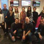 Studenten der HMKW im BB Radio